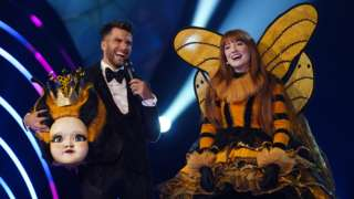 Nicola Roberts is revealed as The Masked Singer winner