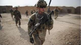Afganistan'da ABD askerleri