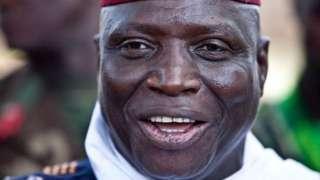 L'ancien Président gambien Yahya Jammeh