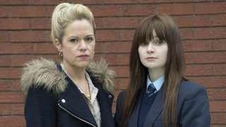 Sinead Keena and Lola Petticrew