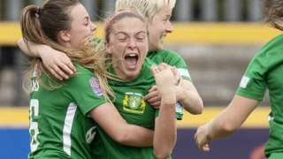 Yeovil Town delayed confirmation of their Women's Super League relegation with victory at nearest rivals Everton.