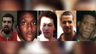 A composite image showing John Actie, Ronnie Actie, Stephen Miller, Tony Paris and Yusef Abdullahi