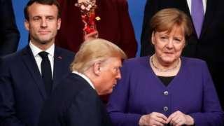 特朗普執政時期,歐盟國家和美國的伙伴關係惡化。