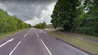 North Dane Way road