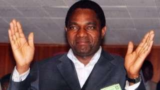 Hakainde Hichilema (14 July 2006)