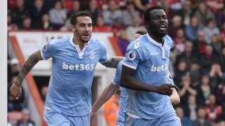 Stoke Citys Mame Biram Diouf