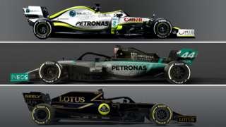 Formula 1 livery designs