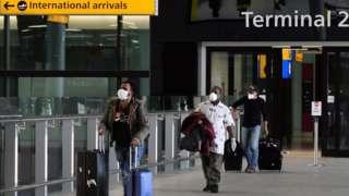 International travels