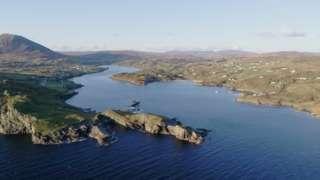 Teelin aerial view