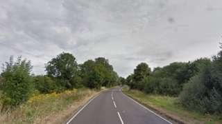 A33 near Sherfield-on-Loddon