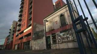 Redevelopment in Sailortown
