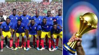 Chad team and Afcon trophy