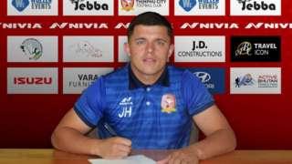 Jay Hart signs for Thimphu City
