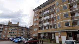 St Martin's Estate in Tulse Hill
