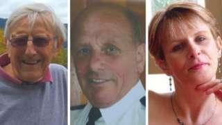 David Laws, David Smith and Debbie Burford