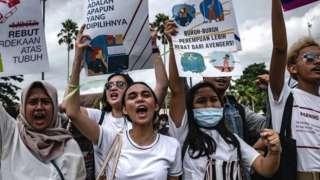 印尼三八大游行