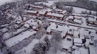Snow in Tenbury Wells