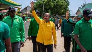 Dkt Hussein Mwinyi ni rais mteule wa Zanzibar