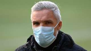 St Mirren manager Jin Goodwin