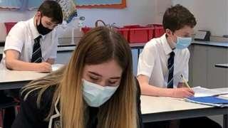 Baldragon Academy pupils