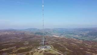 The Bilsdale transmitter