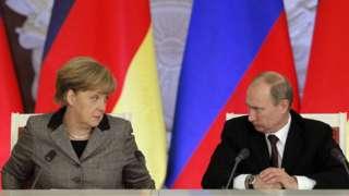 Ангела Меркель, Владимир Путин в 2012 году