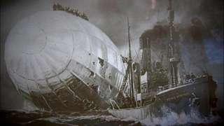 Zeppelin in the sea