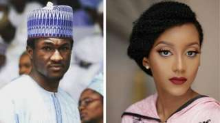Yusuf Buhari and Zahra wan marry