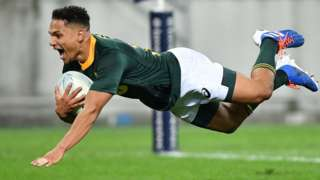 A South Africa try