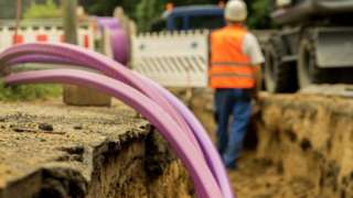 Cable in the ground