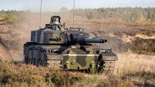 A Challenger 3 tank