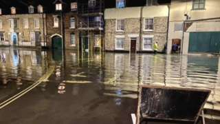 Flooding in Malton
