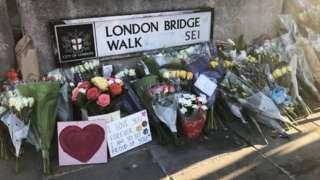 Tributes to victims of London Bridge attack
