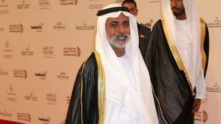 File photo from 2012 of Sheikh Nahyan bin Mubarak Al Nahyan