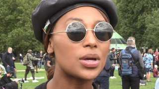 Sasha Johnson in August 2020