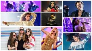 BTS, Cardi B, Harry Styles, Megan Thee Stallion, Dua Lipa, Taylor Swift, Haim and Beyoncé