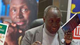 Ngugi wa Thiong'o dem say na di most influential writer for East Africa.