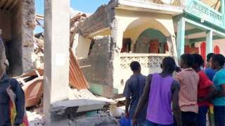 Haiti - city of Jeremie