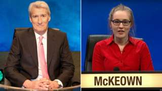 Jereemy Paxman and Rose McKeown