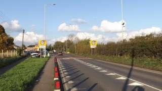 The A140 through Long Stratton