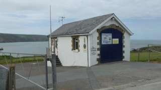 Gwbert coastguard station