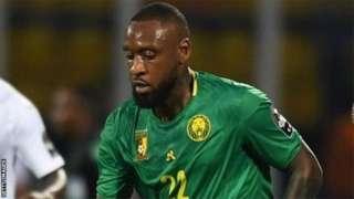 Jean Armel Kana-Biyik lors du match du Cameroun contre le Ghana (0-0) à la Coupe d'Afrique des nations 2019