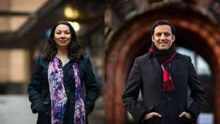 Monica Lennon and Anas Sarwar