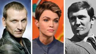Christopher Eccleston, Ruby Rose, George Lazenby