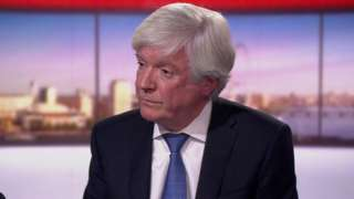 Lord Hall speaking to the BBC's Andrew Marr programme