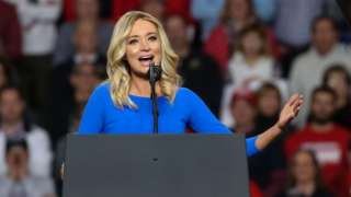 mcEnany speaks at Trump rally in Ohio