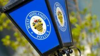 West Midlands Police sign