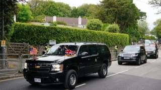 即使出国访问,美国总统都会带上自己的汽车。