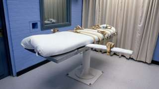 The lethal injection chamber in Huntsville, Texas