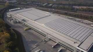 Lidl's Southampton distribution centre